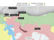 Syria and its northern cities