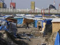 The 'Jungle' camp at Calais