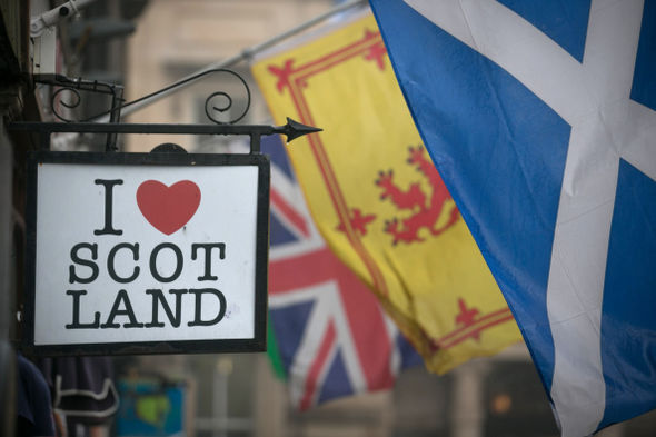 Scotland voted to remain within the United Kingdom