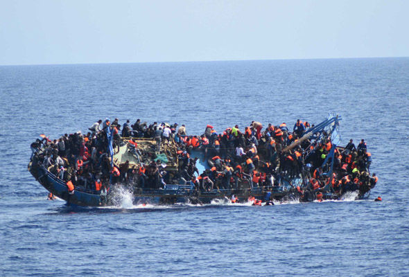 Thousands of migrants have been rescued from boats making the dangerous crossing