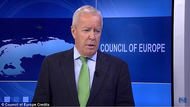 The European Commission against Racism and Intolerance (ECRI), chaired by Christian Ahlund (file picture) said discussions over immigration had caused increasing 'xenophobia'.